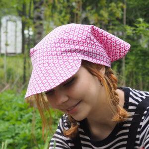 Lippahuivi Pinkki Kukka