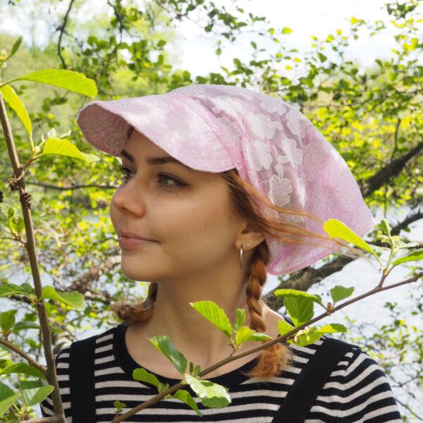 Lippahuivi Vaaleanpunainen Glitter
