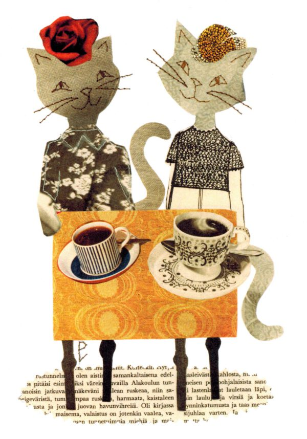 Postikortti A6 ' Kahvikekkerit'