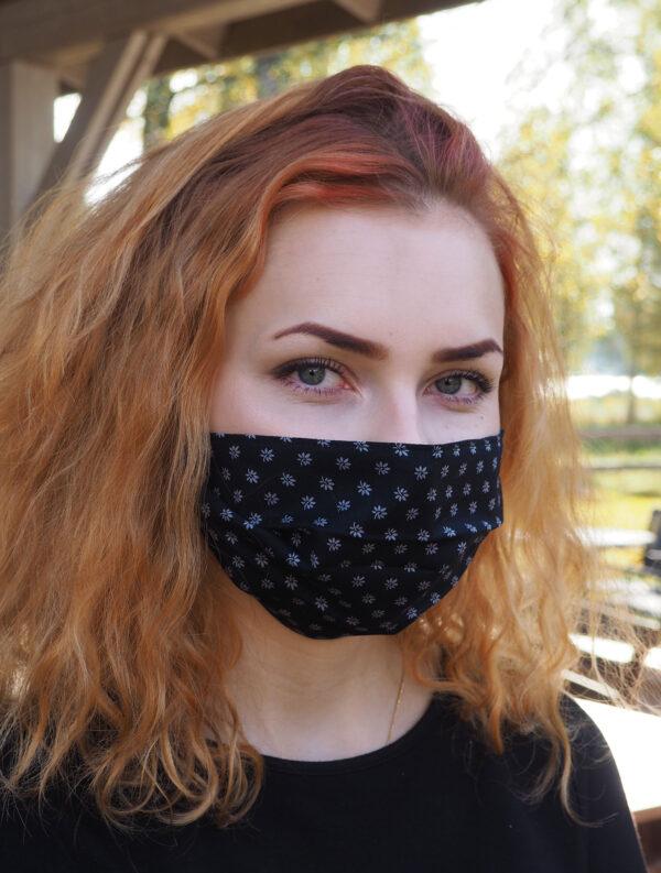 Maski musta pikkukukka - Havinan