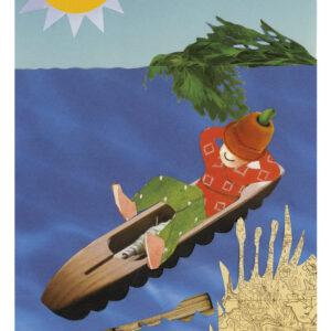 Postikortti-A6-'Kanoottiretki'